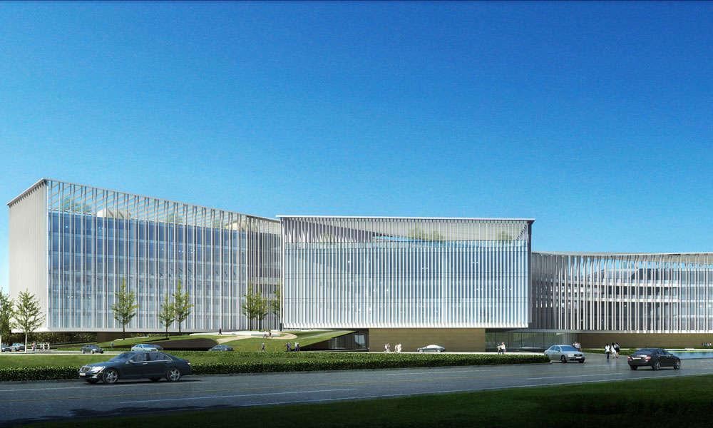 宁波市行政中心