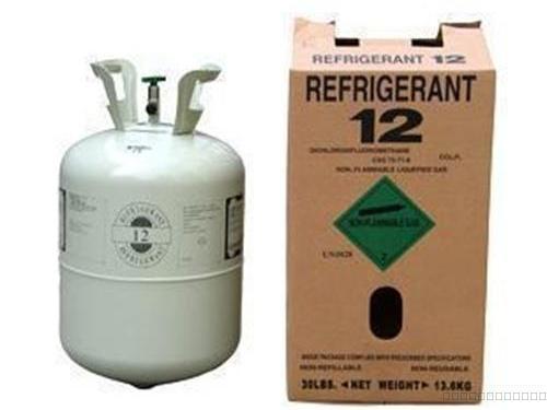 冷库中R12、R22、R407C制冷剂特性