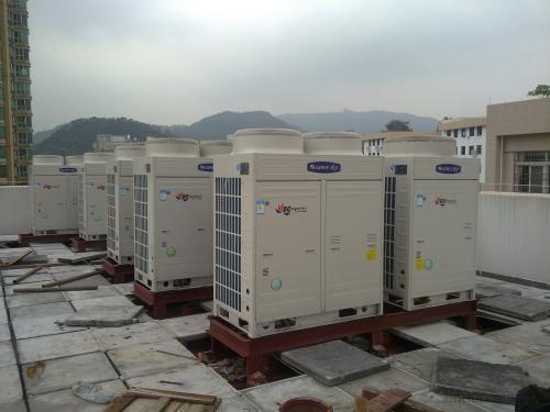 为什么要定期清洗大型中央空调?